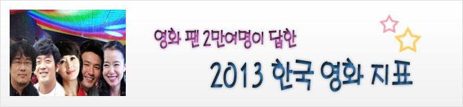 영화 팬 2만여명이 답한 2013 대한민국 영화인 열전